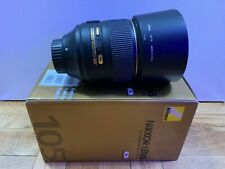 Nikon NIKKOR AF-S 105-105mm F/1.4 E ED Lens with BOX