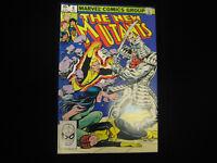 The New Mutants #6 (Aug 1983, Marvel) MID GRADE