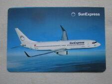 AUTOCOLLANT STICKER AUFKLEBER SUNEXPRESS TURKISH AIRLINE BOEING 737 AIRLINER