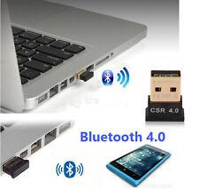 Nano de alta velocidad USB Bluetooth 4.0 Adaptador Dongle receptor Cabeza Teléfono Móvil PC