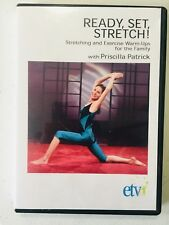 Ready, Set, Stretch: Stretching and Exercise Warm-Ups for the Family (DVD) RARE!