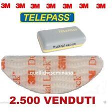 3M  ADESIVO-ADESIVI TELEPASS DUAL LOCK BIADESIVO per parabrezza auto 1 pz singo