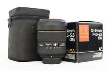 # Sigma EX 12-24mm f/4.5-5.6 HSM DG EX ASP Lens For Nikon S/N 2035808