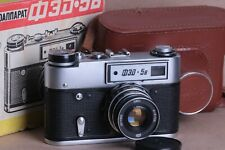 FED-5B 5 USSR Rangefinder 35mm Camera INDUSTAR-61 LD 2.8/55 Lens Vintage