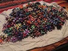 10 fröbelsterne sind nicht aus papier sondern aus polybändern gemacht 2