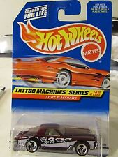 Hot Wheels Stutz Blackhawk Tattoo Machines Series