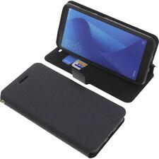 Funda para Asus Zenfone Max Plus M1 Book Style FUNDA PROTECTORA Gadget Negro