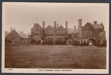 RPPC Real Photo Postcard Girls Grammar School Mansfield Nottinghamshire NG18