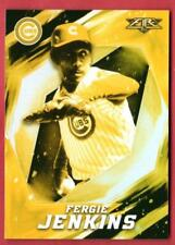 Fergie Jenkins Gold Minted 2017 Topps Fire Cubs Target Exclusive 74 Mint HOF