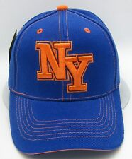 NEW YORK City NY Cap Hat NYC OSFM Adjustable Blue Orange NWT