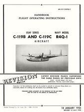 FAIRCHILD C-119 / R4Q-1 FLYING BOXCAR AN 01-115CCA-1