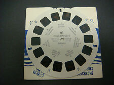 Sawyer's Viewmaster Reel, Hula Dancers, Hawaii I, Native Hula Girl,  #61