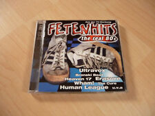 Doppel CD Fetenhits The Real 80`s: Alphaville Madness Wham Yazz Camouflage OMD