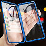 360° Full Body Magnetic Front+Back Tempered Glass Case For Samsung Note 10 Plus