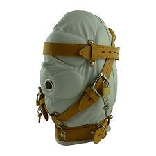 ce masque de bondage type cagoule Insonorisation fetish mask BDSM domina NEUF