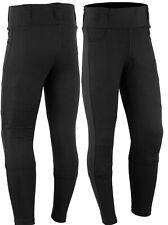 Donna Jeans Moto Pantaloni Legging Pantaloni Moto con 2x rimovibile protezioni