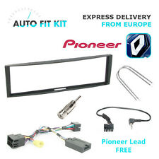 Renault Clio Megane Fitting Kit + Steering Wheel Adaptor CTSRN005.2 Pioneer lead