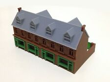 Outland Models Train Railway Layout Victorian City Building Shop Row N Scale