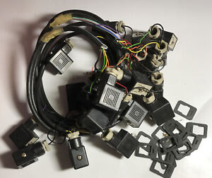 MPM TW1 plug x 21 used 14 rubber seals 99p start pneumatic actuator