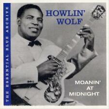 HOWLIN' WOLF - THE ESSENTIAL BLUE ARCHIVE: MOANIN' AT MIDNIGHT USED - VERY GOOD