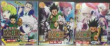 Anime DVD: Hunter X Hunter Season 2 (2011) Vol.1-148 End (3 Box Set) Eng Sub_R0_