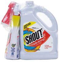Shout Triple Acting Liquid 1 Gallon Refill + 32 oz. Shout Trigger