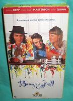 Benny & Joon Movie 1993 VHS Johnny Depp Mary Stuart Masterson Aiden Quinn