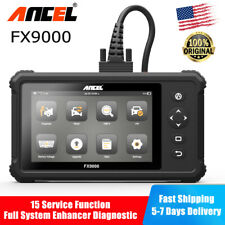 Full System Oil SRS ABS Diagnostic Tool OBD2 Code Reader FX9000 PK Launch CRP909