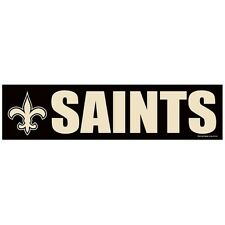 "New Orleans Saints Classic 3"" X 12"" Bumper Sticker/Decal by Wincraft Sports"
