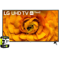 """LG 86"""" UHD 4K HDR AI Smart TV 2020 Model with 1 Year Extended Warranty"""