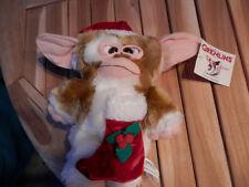 "GREMLINS - GIZMO SANTA plush 12"" NANCO 2001 Mogwai with TAG Collector RARE"