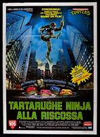 Poster Ninja Turtles 1 Teenage Mutant Schildkröten Gilard die Rettung Ooze M297