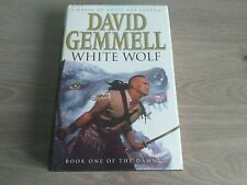 White Wolf - David Gemmell - First edition - 1st/1st HB - Fantasy Drenai Tales