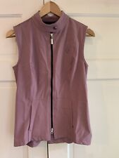 Arista Women's Equestrian Vest Full Zip Pockets Purple Size Small EUC