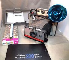 Polaroid Land Camera 220 Automatic Instant Camera with flash untested