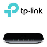 TP-LINK 8 Port Gigabit Network Desktop Ethernet Switch 1000Mbps - TL-SG1008D