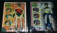 NEW SEALED Retro Batman and Robin Action Figures