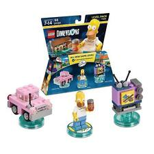 Lego Dimensions Homer Simpson Level Pack 71202  the simpsons LEGO SET 98 PCS