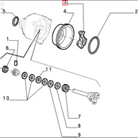Genuine Brand New Alfa Romeo GTV/Spider Ignition Distributor Rotor Arm 60513052