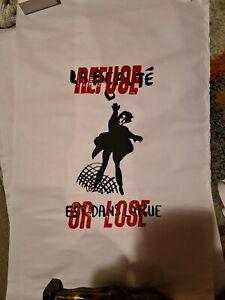 "Original Paris 1968 Atelier Populaire screenprint Poster :REFUSE OR LOOSE"" RARE"