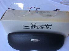 Silhouette M 6545 Unisex Rimless Titanium Glasses