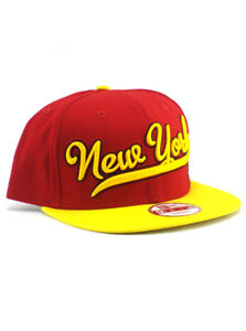 New Era Iron Man 9fifty Snapback Hat New York Adjustable Marvel Heroes Red NWT