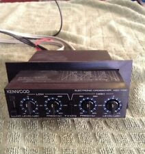 Kenwood Electronic Crossover KEC-1100 5 EQ BASS HIGHS LOWS AMP SUBWOOFERS