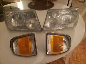 Ford Ranger Headlight and Side Marker OEM