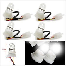 4 Pcs Universal White Car Truck HID Flash Strobe Lights Spare Replacement Bulbs
