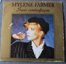 Mylene Farmer, sans contrefaçon, Maxi vinyl
