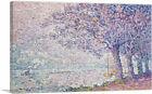 ARTCANVAS The Seine at St. Cloud 1903 Canvas Art Print by Paul Signac