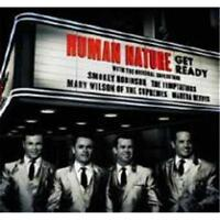 HUMAN NATURE Get Ready CD BRAND NEW