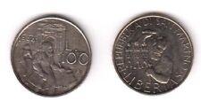 1994 San Marino Lire 100 Lavorazione Della Pietra Fior di Conio Unc