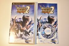 Monster Hunter Freedom 2 Sony PSP Playstation Portable Game Capcom Manual Inc